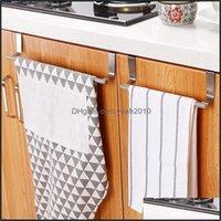 Кухонная Housekee Home Home Hardenkitchen Хранение Организация из нержавеющей стали Ванная комната Стойка Стойка Шкафла Вешалка Шкаф Через Дверь