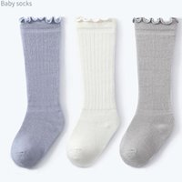 Çorap Erkek Bebek Dönemi Diz-Yüksek Çorap Kız Penye Pamuk İpek Çorap Bacakları Uzun Toddler Diz Yüksek Bacak Sıcak