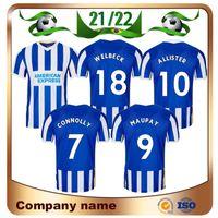 2021 Hove Albion Soccer Jerseys 21/22 Dunk Connolly Maupay Trossard Football Hemd Lallana Jahanbakhsh Murray Murray MAN Uniform