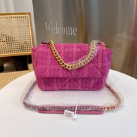 Qiu dong senior cloth style luxury brand high quality Shoulder Bags fashion trend in Europe and the United States new