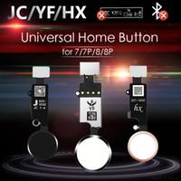 JC / MEIBI 5º YF HX 3RD Gen Universal Button para iPhone 7 7G 8 8G Plus Menu Teclado Return On Off Função
