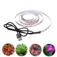 Strips Plant Grow Lights Strip DC5V 0.5m 1m 1.5m 2m 2.5m 3m Full Spectrum Phyto LED Tape For Seed Plants Flowers Greenhouses Hydroponic