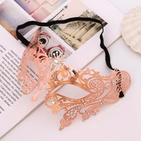 Other Event & Party Supplies Women Hollow Metal Masquerade Face Mask Princess Prom Props Costume Halloween Sexy