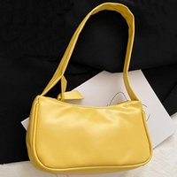 Evening Bags Winter PU Leather Women's Underarm Shoulder Bag Fashion Casual Handbag Female Shopper Designer Tote For Women 2021