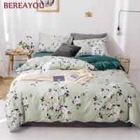 Conjuntos de ropa de cama Algodón nórdico 3/4PCS Dibujos animados cubierta de almohada Funda de almohada Hoja de cama Chico Niño Adolescente Ropa de cama Conjunto Rey Doble Queen