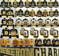 2020 2021 Новый обратный ретро Бостон Брюинз Хоккей 4 Bobby ORR ZNEO CHARA 37 Patrice 46 Krejci David 88 Pastrnak 40 Tuukka Rads Jerseys