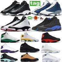 Nouvelle Arrivée Flint 13 13s Basketball Chaussures Reverse Il a été Jeu Bred Neutre Gris Bas Chutney Lucky Vert Baskets Sports Hommes Sports