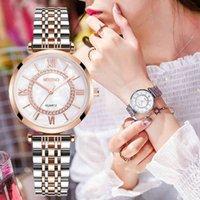 Designer relógio marca relógios de luxo relógio 2021 moda diamante senhoras mulheres pulseiras de aço inoxidável cinta de malha de prata quartzo