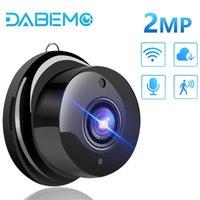 WiFi Camera 1080p Mini Sécurité Home Smart Baby Monitor IP CCTV Détection de mouvement Vision nocturne infrarouge 210618