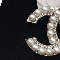 DHL Mujeres Boda Broche Iced Out Jewelry Designer Broches Accesorios Banquete Accesorios de Banquete de alta calidad Broches al Por Mayor
