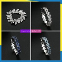 Cluster Rings Arrow Leaf Diamond Ring Korean Ins Simple Retro Fresh Personality Temperament Men And Women Can Wear Brand Jewelry