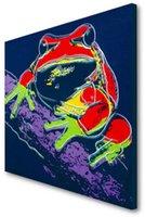 Pine Barres Tree Frog Home Decor Große Ölgemälde auf Leinwand Handkräften / HD Print Wandkunstbilder Anpassung ist akzeptabel 21090203