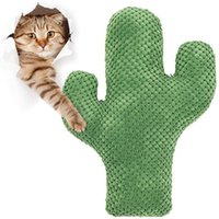 Cat Toys Catnip Toy Cactus Pet Plush Chew Dog Teeth Grinding Chewing Durable Tug Fetch Bite For Small Medium Large