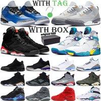 air jordan retro 3 6 8 Basketballschuhe Männer 3s 6s 8s Jumpman 3 Cool Grey 6 8 Outdoor-Sporttrainer Herren Sportschuhe