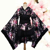 Men's Casual Shirts Female fantasy Japanese anime kimono sakura, traditional vintage print SXMW