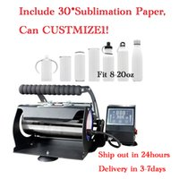 Sublimation Machinng Heat Press Machine Printer Suitable For 8 12 16 20oz Straight Tumblers 110V Thermal Transfer Machines New Arrive by EXPRESS