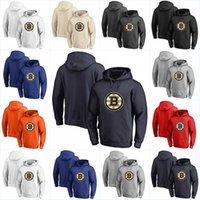 Boston Bruins Hoodies Trikots 100% genähte Stickerei Hockey Jeder Spieler oder Nummernstich genäht Hoodies Trikots Sweatshirts