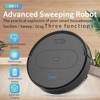 OBOWAI OB11 2020 최신 1800PA 로봇 진공 청소기 앱 원격 제어 무선 로봇 자동 재충전 스마트 계획 스윕