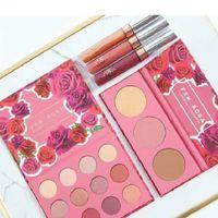 Stokta Karrueche X Colourpop Fem Rosa Set 12 Göz Farı +3 Renk Vurgulayıcı ve Mat Ruj Makyajı Setleri Kaliteli