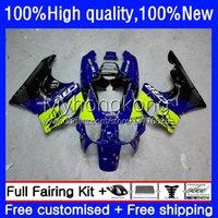 Fairings kit för Honda CBR 893RR 900RR 893 900 CC CBR900RR Blågrön 89-93 Bodys 36NO.7 CBR893RR 89 90 91 92 93 CBR900 CBR893 RR 1989 1990 1991 1992 1993 OEM Kroppsarbete