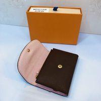 새로운 로잘리 코인 지갑 미니 Pochette 디자이너 여성 소형 지갑 키 코인 카드 홀더 케이스 accessoires Emilie sarah victorine 지갑