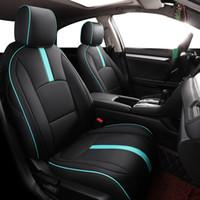 Özel Araba Koltuğu Kapak Honda Civic 2016 2017 Modeli Lüks PU Deri Araba Koruyucu Kılıf Yenilenmiş Eski Koltuklar