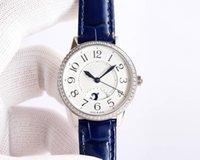 ZF Mulheres relógios Cal.898a / 1 Movimento automático Bezel com Swarovski Beauty Diamond 34mm x 8,8mm Sapphire espelho de luxo relógio