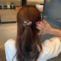 Korean net Red Headband feminine temperament sweet Circle Bracelet hair rope dual-purpose jewelry simple elastic rubber band