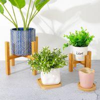 Suporte de planta em vaso do século moderno moderno suporte de planta ajustável para flores de vaso de flores flores ou velas 601 s2