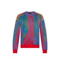 2021 여성 망 디자이너 스웨터 편지 인쇄 남자 스웨터 티셔츠 고품질 캐주얼 라운드 긴 소매 자수 슈퍼미드 후드 하이 엔드 디자인 까마귀 02