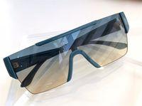 Lunettes de soleil à la mode pour hommes et femmes tendance Square Square Lentilles de soleil rétro à lentilles d'une pièce avec boîte 4291