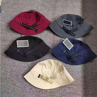 2021 Letter Embroidery Sunhat Luxurys Bucket Cap Solid Color Fashion Denim Hat Chapeaux Simplicity Designers Caps Hats Mens Women Casquette