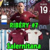 Salernitana Futebol Jerseys 19 jogador Bonazzoli Belec Coulibal Gyomber Jaroszynski 2021 2022 Vestiti da Calcio 21/22 Home Away Terceiro quarto quarto 4 homens camisa de futebol top