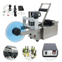 Printers MT-50D Round PET Water Bottle Labeling Machine With Coding Printer