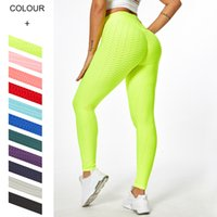 11 colors Fashion yoga Pants for girls Leggings sport plus size gym long pant Fitness high waist lift buttock Tummy Control Running Tights legging