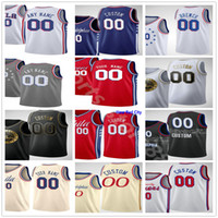 Personalizado 2021 Impreso Joel 21 Embiid Ben 25 Simmons Tobias 12 Harris Dwight 39 Howard Seth 30 Curry Hombres Mujer Niños Jóvenes Baloncesto Jerseys