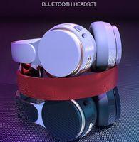 Wireless Bluetooth 5.0 latest version headphones foldable heavy bass stereo card sports computer headset