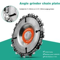 """Hand & Power Tool Accessories 1PC Wood Carving Disc Grinder Chain For Use With 4"""" Or 4-1 2"""" Angle Grinders Accessoires"""