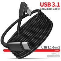 3M 5M 6M Data Line Charging Cable for Oculus Quest 2 Link USB 3.1 Type C Transfer USB-A to Type-C 20V 3A Charger