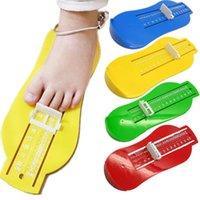 Bebek Ayak Plastik Cetvel Ayarlanabilir Ölçü CM CM CHN Bebek Ayakkabı Sizer Ölçü Araçları Ölçer Cihazı Bebek için