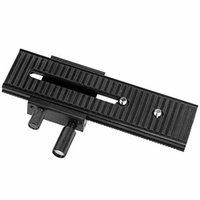2 vie LP-01 Macro Focusing Rail Slider per DSLR 1/4 Vite Mobile Treppiede TESTE LP01