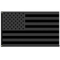 3x5ft черный американский флаг полиэстер без квартала не будет предоставлен нам США историческая защита баннер флага двухсторонний крытый HW B9930