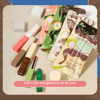 Lip Gloss 2021 INS Fruit Matte Glaze Pearly Female Makeup Cute Cosmetics Waterproof Lipstick Natural Moisturizing