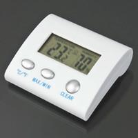 الرقمية LCD درجة الحرارة الرطوبة الرطوبة ميزان الحرارة TL8025 محطة الطقس الحرارية termometro reloj التصوير الحراري WWA166