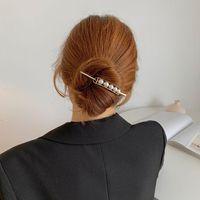 Hair Accessories Pearl Bling Headband Sticks Scrunchie Women Designer For Girls Hairbands Bandeau Femme Pour Cheveux Fashion
