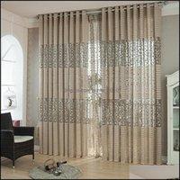 Drapes Deco El Supplies Home & Gardeneuropean Living Room Jacquard Curtains Window Panel Curtain Fabric For Bedroom Custom Shading Drop Deli