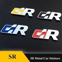 3D metal Truck Emblem Auto sticker Badge car styling For Volkswagen R Racing VW Sagitar Passat Golf Tiguan Touareg CC SR sticker