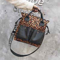 Shoulder Bags Luxury Designer Handbags Crossbody For Women 2021 Leopard Bag Purses Tote Summer Shopper Torebka Sac A Main