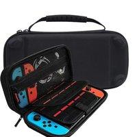 Para Nintendo Switch Lite Consola Caso Durable Tarjeta de juego Bolsa de almacenamiento Caja de transporte EVA Hard Eva Bag Shell portátil Bolsa de transporte Bolsa de protección