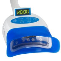 Rotation Arm Portable Teeth Bleach LED Lamp Dental Teeth Whitening Light Machine With Wheels